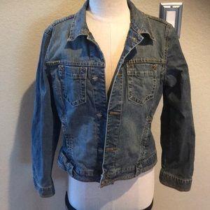 CAbi Jean Jacket denim jacket medium